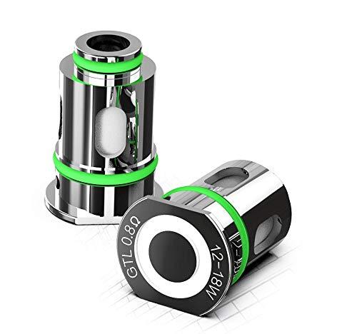Resistenze per Atomizzatore Eleaf GTL Pico Compaq Glass Pen Pod ORIGINALE (no nicotina) (0,8 ohm (12-18W))