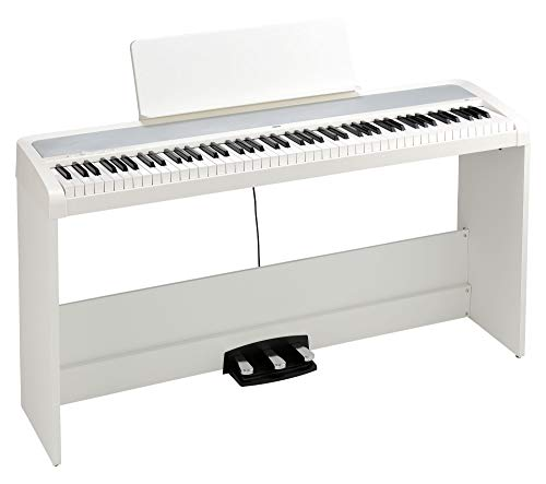 Korg B2SP WH Piano de stagepiano avec support Blanc