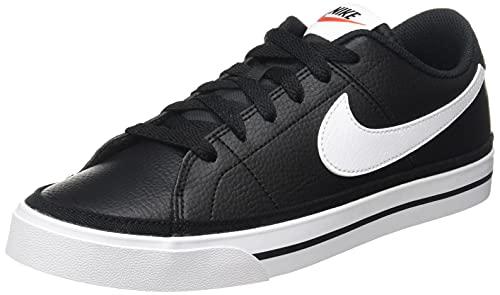 Nike Court Legacy, Zapatos de Tenis Hombre, Black White Gum...