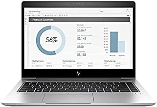 HP EliteBook x360 1030-G2 Business Convertible Intel:I5-7200U, 8GB Memory, 256GB/SSD Memory, WiFi+Bluetooth, Backlit-Keyboard, Webcam, Intel-HD620 Graphics, 13.3