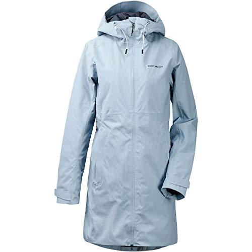 Didriksons W BEA Parka Blau, Damen Regenjacke, Größe 34 - Farbe Cloud Blue
