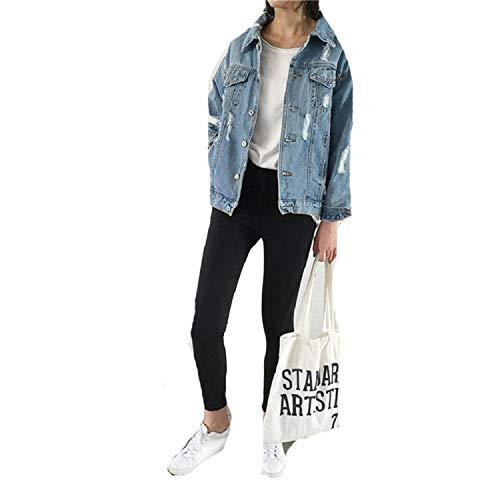 Lisa Billy Jacket Women Coat Denim et Women Winter Denim et For Women Jeans et Women Denim Coat Lady Loose Fit Casual Style Blue S