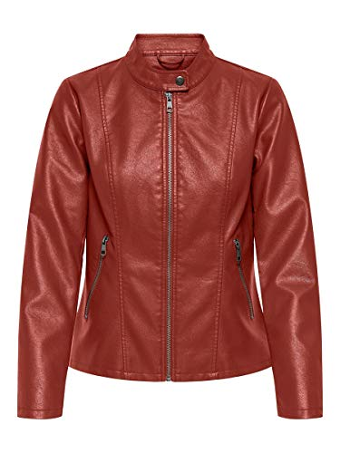 Only Onlmelisa Faux Leather Jacket CC Otw Chaqueta para Mujer