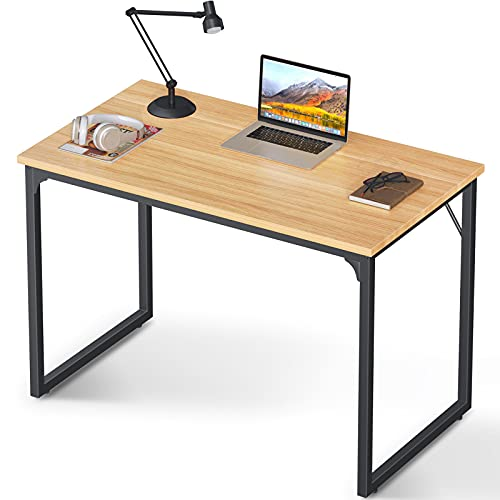 """Coleshome Computer Desk 39"""" Modern Simple Style Desk Now $29.63 (Was $56.99)"""