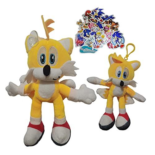Juguetes de peluche Super Sonic Sonic Super Sonic juguete de felpa muñeca erizo muñeca de regalo muñeca colgante de dibujos animados muñeca pequeña