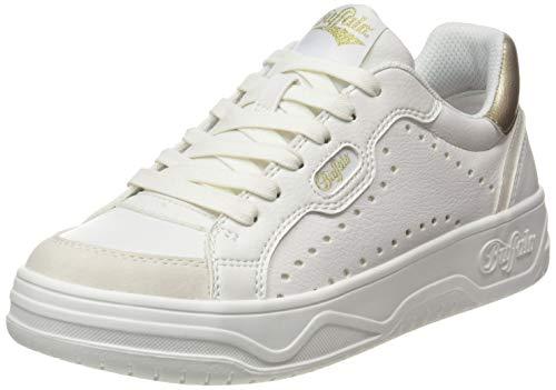 Buffalo Damen Match Sneaker, Offwhite, 41 EU