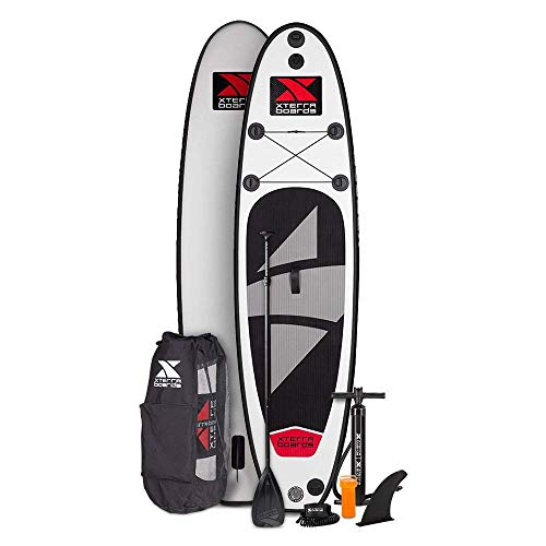 XTERRA Boards - Inflatable 10' Stand Up Paddle Board Bundle - Premium...