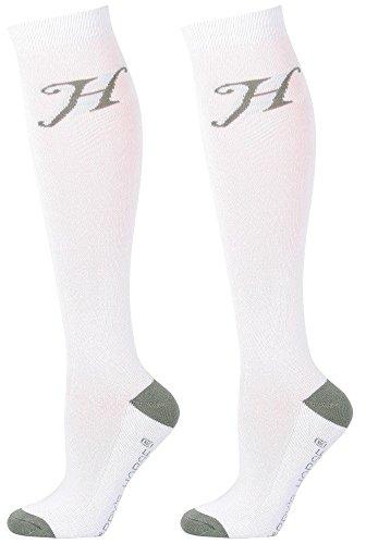 Harry's Horse Kousen Uni, Farbe:weiß, Größe:M