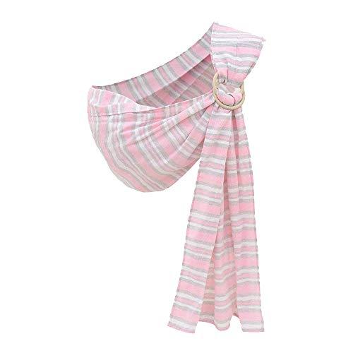 Kangaroobaby Baby Sling Wrap Carrier Von Neugeborenen Zum Kleinkind Kind (Pink Stripe)