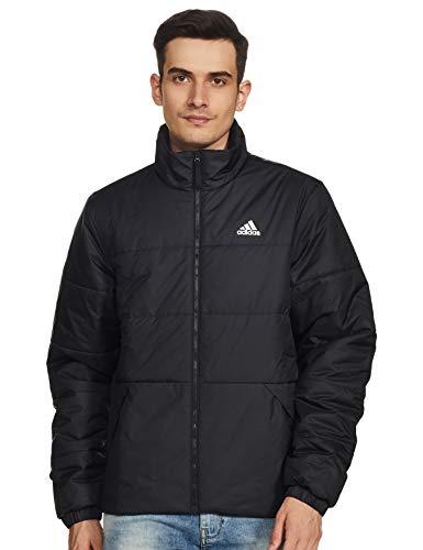 adidas Herren Jacke BSC 3S INS JKT, Negro/Negro, S, DZ1396