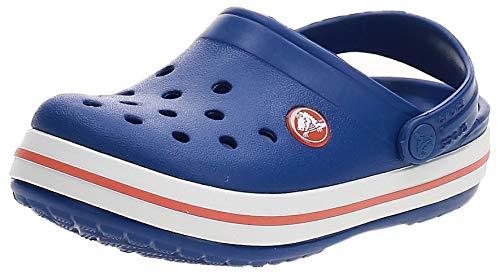 crocs Unisex-Kinder Crocband K Clogs, Blau (Cerulean Blue), 32/33 EU