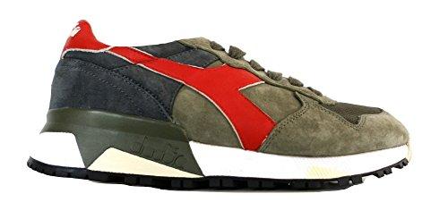 DIADORA scarpe sneaker uomo 201.161885 70432 trident 90 S verde rosso N. 40 EU