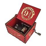 5665 Harry Potter Music Box Modern King's Cross Platform 9 3/4 Harry Potter Music Box