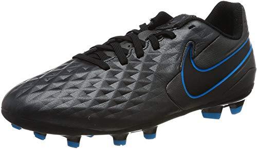 Nike Unisex Legend 8 Academy Fg/Mg Fußballschuhe, Schwarz (Black/Black-Blue Hero-Blue Hero 004), 37.5 EU
