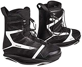 Ronix Wakeboard Bindings RXT- Naked Black/Bright White - Intuition (2019)
