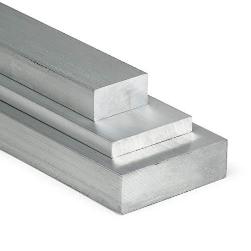 Aluminium Flachstange AlCuMgPb 40x10mm - Länge 100mm / 10cm auf Zuschnitt