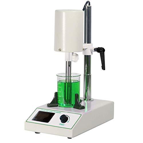High Speed Homogenizer, 110V FSH-2A High Speed Dispersion Homogenizer Lab Homogenization Mixer Laboratory Dispenser 5~1000ml w/ 2 Working Heads