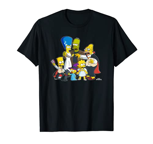 The Simpsons Family Treehouse of Horror Halloween Camiseta