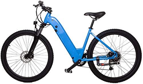 Bicicleta de montaña eléctrica, 27,5 pulgadas bicicleta eléctrica for adultos eléctrico bicicleta de montaña / eléctrica Tráfico for bicicleta con 36v 10.4ah batería de litio y Profesional velocidad E