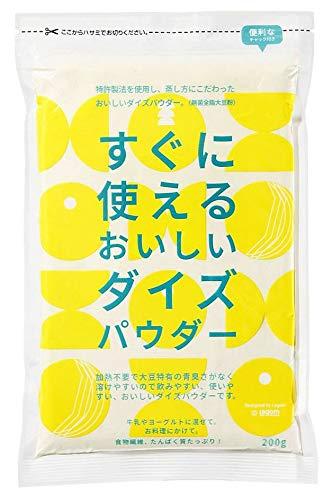 富士食糧 すぐに使えるおいしいダイズパウダー 200g ×4個