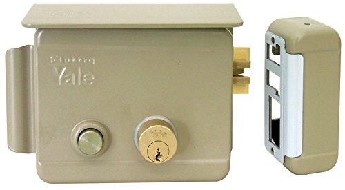 Serratura elettrica da applicare DX con mandata K e pulsante
