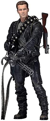 Terminator Future Warrior 2! T800 Deluxe Edition - Figura de acción Arnold (18 cm)