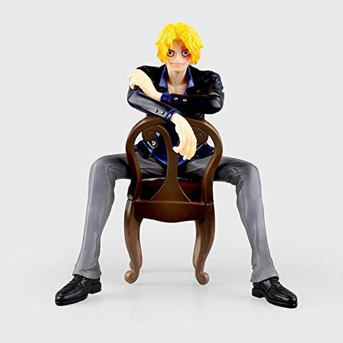 MNZBZ Anime One Piece Portrait of Pirates Sabo Jefe del Ejército Revolucionario PVC Figura de Acción Colección Modelo Juguetes Muñeca 16CM