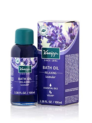 Kneipp Lavender Herbal Bath Oil, Relaxing Soak, 3.38 fl. oz.