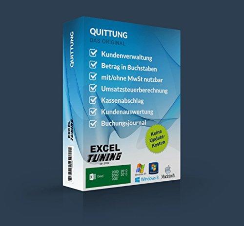 Excel-Tuning Quittungsprogramm