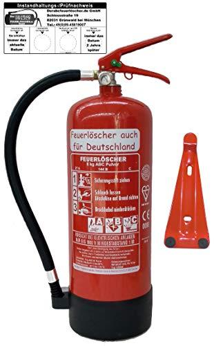 Feuerlöscher auch für Deutschland -  Feuerlöscher 6kg