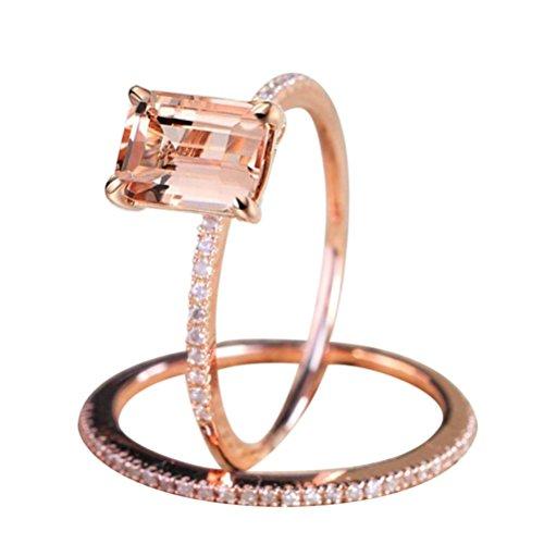 Anillos De Compromiso Oro Blanco Y Diamantes Precios marca Balakie Ring