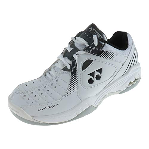 YONEX Damen Schuhe Sportschuh Tennisschuh Sneaker Tennis Power Cushion White SHT205C (38 EU)