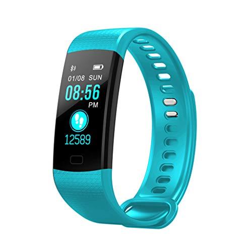 LRWEY Fitness-Tracker Mit Herzfrequenzmesser, Smart Watch Sports New Lightweight Ersatz LüFten Heart Rate Tracker Blutdruck-Uhrenarmband
