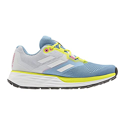 adidas Terrex Two Flow W, Zapatillas de Trail Running Mujer, AZUBRU/Balcri/AMAACI, 39 1/3 EU