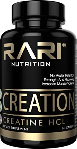 RARI Nutrition CREATION 100% Natural Creatine HCL Capsules