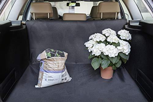 TECHNOSMART Autoschonbezug für Hunde, Universal Kofferraumschutz, Schondecke waschbar für Auto Rücksitz, Hundedecke wasserdicht, Komplettschutz, 145 x 145 cm