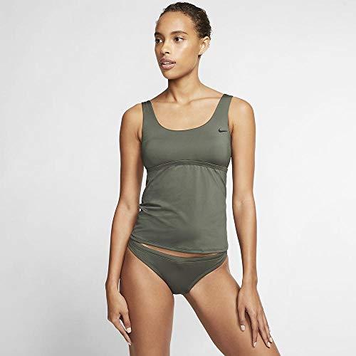 Nike Scoop Neck Tankini Oberteil für Damen S galaktische Jade