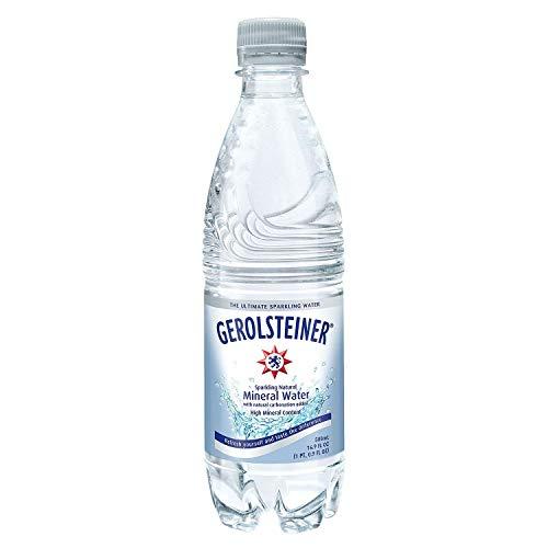 Gerolsteiner Sparkling Natural Mineral Water (16.9 oz. bottles, 24 pk.) - (Original from manufacturer - Bulk Discount available)