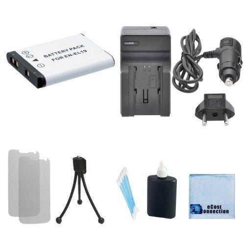Micro USB Cargador para Nikon CoolPix S100 S2500 S3100 S4100 S4150
