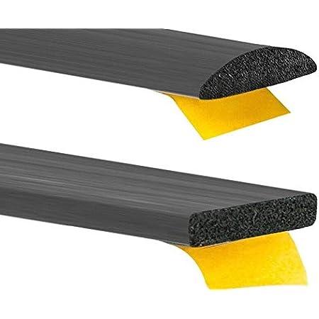 Moosgummidichtung Gummidichtung Selbstklebend Türdichtung 9 Grössen 2 Formen Rechteckig Oder Rund Hubdach Moosgummi Epdm Schaumstoff Dichtung Baumarkt
