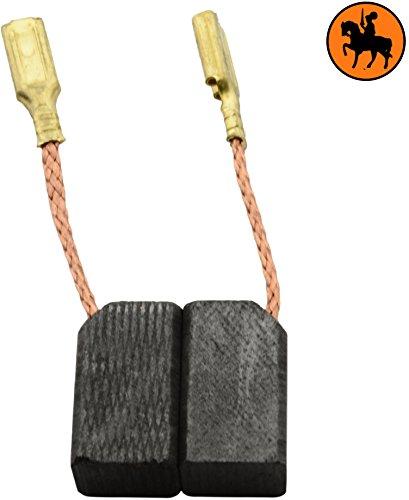 Buildalot Specialty koolborstels ca-07-36762 voor Black & Decker haakse slijper KG75-6,3x8x13,5mm - vervanging voor originele onderdelen 1003868-00, 930151-00, 930897-00 & 939539-01