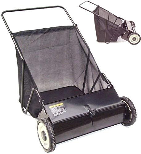 Rasenkehrmaschine Kehrmaschine 65 cm 55145 Rasenkehrer Handkehrmaschine Kehrer AWZ