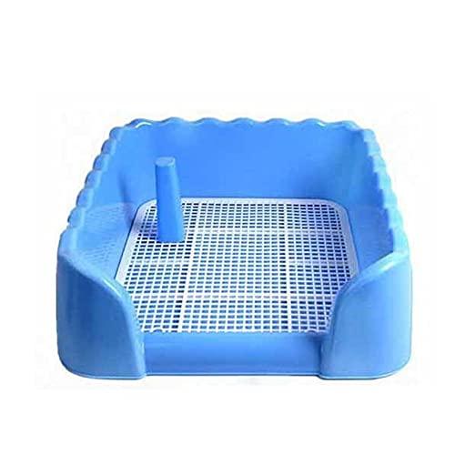 MxZas Hundetraining Bodenschutzschalen Hunde-Toiletten-Welpen-Hunde-Töpfchen, Hunde-Trainings-WC, Hunde-Töpfchenzaun, Welpen-Pad-Halter mit Abnehmbarer Pfosten- und Wandabdeckung