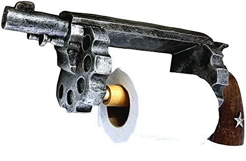 Soporte para papel higiénico Colt, Western Decoración