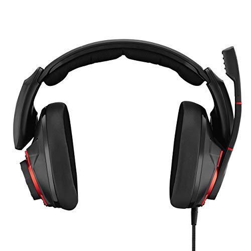 EPOS I Sennheiser GSP 600 Professionelles Gaming- Headset (mit passiver Geräuschunterdrückung) & Creative Sound Blaster X G1 Portable Soundkarte (mit 7.1 und Kopfhörerverstärker)