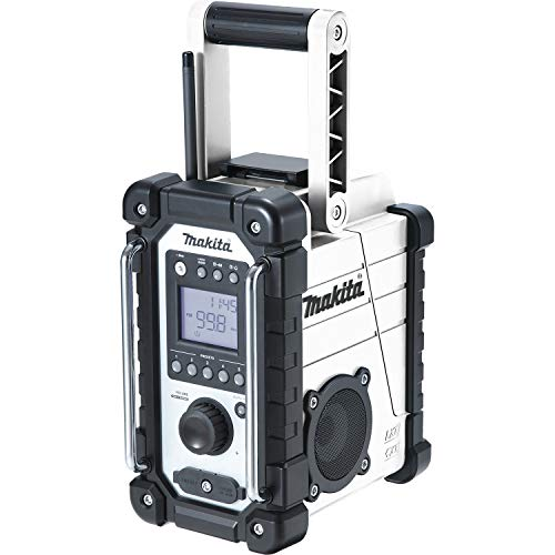 Makita DMR110W Li-ion DAB/DAB+ Job Site Radio - Batteries and Charger Not Included