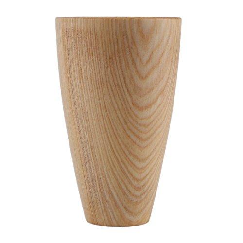 Tree-es-Life Primitive My Bottle, Creativo Hecho a Mano, Taza de Madera de Abeto Natural, Regalo para el hogar, Vasos Hechos a Mano de Alta Gama