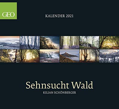 GEO Sehnsucht Wald 2021 - Wand-Kalender - Natur-Kalender - 60x55