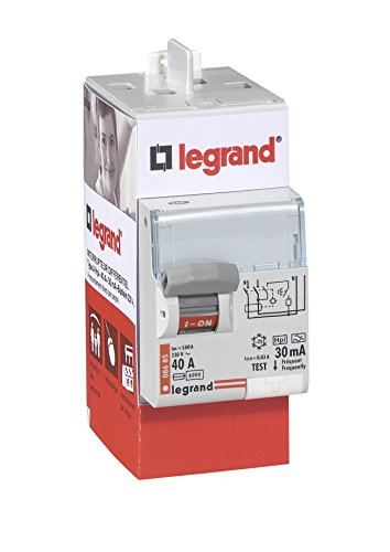 Legrand LEG92828 - Interruptor diferencial (BIP 40A, 30 MA, tipo HPI)