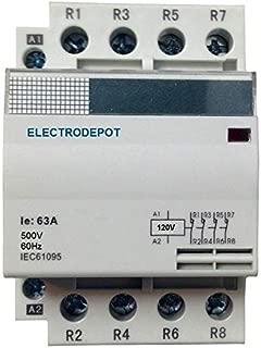 4 pole lighting contactor
